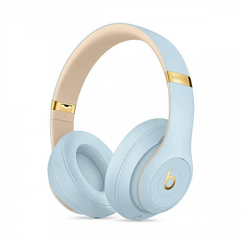 Наушники с микрофоном Beats by Dr. Dre Studio3 Wireless The Skyline Collection Crystal Blue (MTU02)